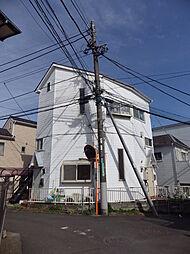 東京都日野市大坂上1丁目の賃貸アパートの外観