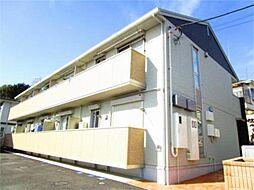 東京都八王子市下柚木の賃貸アパートの外観