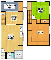 [一戸建] 北海道小樽市稲穂5丁目 の賃貸【/】の間取り