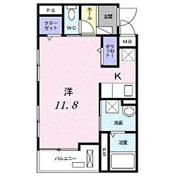 ポスト・プリート II[3階]の間取り