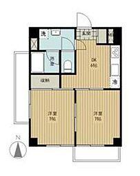コートハイム横浜[201号室]の間取り