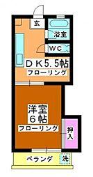 泉ハイツ[2階]の間取り