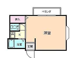 パークアベニュー桜ノ宮[5階]の間取り