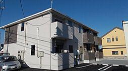 栃木県栃木市都賀町家中の賃貸アパートの外観