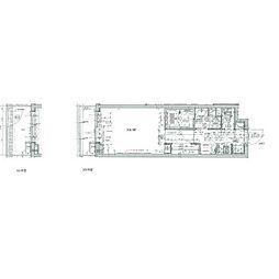 リヴシティ立川ミッド(リヴシティタチカワミッド) 1階1Kの間取り