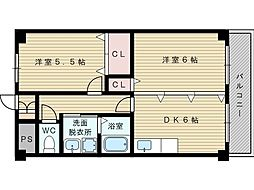 ASK21[1階]の間取り