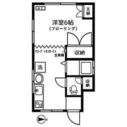 ピッコロカーサ[1階]の間取り