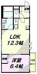 西武拝島線 東大和市駅 徒歩15分の賃貸アパート