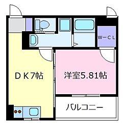 FSTYLE上田2号館[3階]の間取り