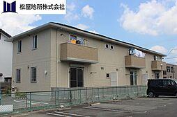 愛知県豊橋市東光町の賃貸アパートの外観