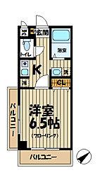 北鎌倉プレジール[2階]の間取り