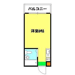 オクトメゾン桜木町[305号室]の間取り