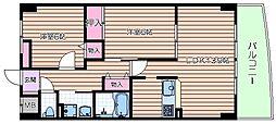 コモドガーデン・ヤマイチ[5階]の間取り