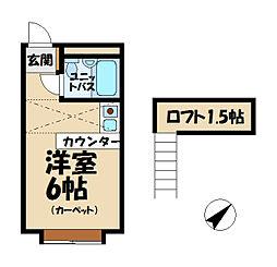 ベルピア鎌倉第8[2階]の間取り