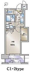 アクタス博多ステーションタワー[404号室]の間取り