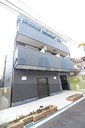 大阪府大阪市東住吉区住道矢田1丁目の賃貸アパートの外観
