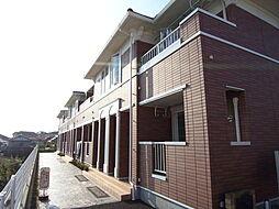 東京都武蔵村山市神明2丁目の賃貸アパートの外観