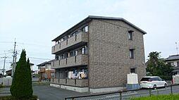 栃木県小山市暁1丁目の賃貸アパートの外観