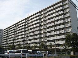 東京都昭島市つつじが丘2丁目の賃貸マンションの外観