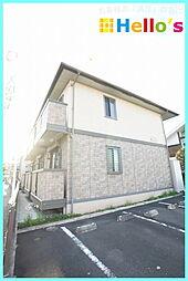 東京都青梅市師岡町3丁目の賃貸アパートの外観