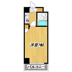 ライオンズマンション東新小岩[307号室]の間取り