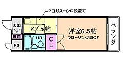 ウエストMYG[2階]の間取り