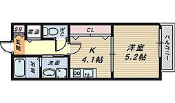 アインスフィア[1階]の間取り