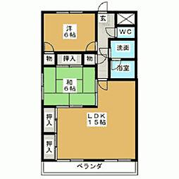 セントラル22[104号室]の間取り