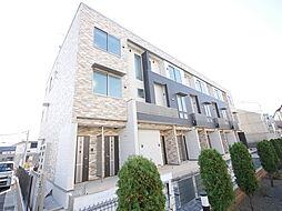 神奈川県海老名市門沢橋2丁目の賃貸アパートの外観