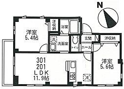 TKBase[2階]の間取り