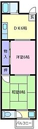 葵マンション[1階]の間取り