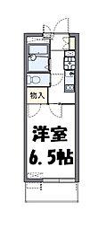 埼玉県さいたま市中央区鈴谷2丁目の賃貸マンションの間取り