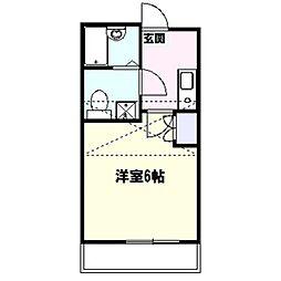 ソフィア戸塚[2階]の間取り