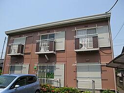 栃木県小山市天神町2丁目の賃貸アパートの外観