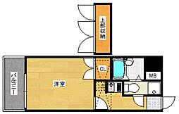 エステート・モア・博多グランA棟[3階]の間取り