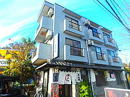 東京都稲城市坂浜の賃貸マンションの外観