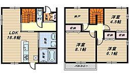 [一戸建] 大阪府高石市取石4丁目 の賃貸【/】の間取り