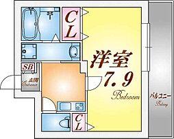 レーヴメゾン神戸須磨[3階]の間取り