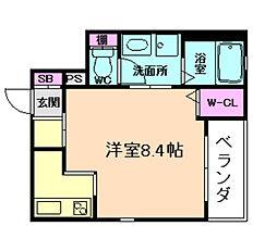 (仮称)福島区野田ヘーベルメゾン[2階]の間取り