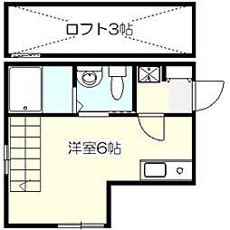 IQテラス横浜戸塚[2階]の間取り