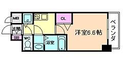 ララプレイス梅田西イルミナーレ[11階]の間取り