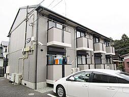神奈川県厚木市山際の賃貸アパートの外観