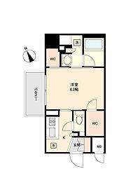 東京メトロ丸ノ内線 方南町駅 徒歩5分の賃貸マンション 2階1Kの間取り