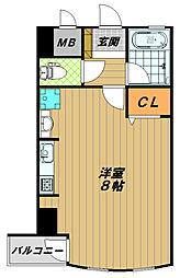メゾン須磨2000[2階]の間取り