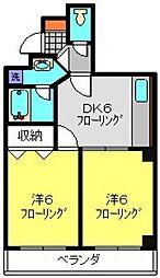 Zenith35[3階]の間取り