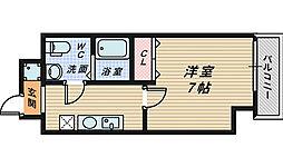 GROOVE堺東[6階]の間取り