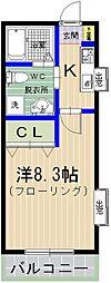 PiAA NAKANO[101号室]の間取り