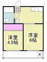 森屋ビル[3階]の間取り