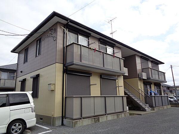 ビューパストラルB 2階の賃貸【茨城県 / つくばみらい市】