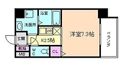 CASSIA福島駅前[9階]の間取り